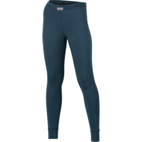 Pantaloni First Layer Femei Lasting Ataka Merino 160g Albastru