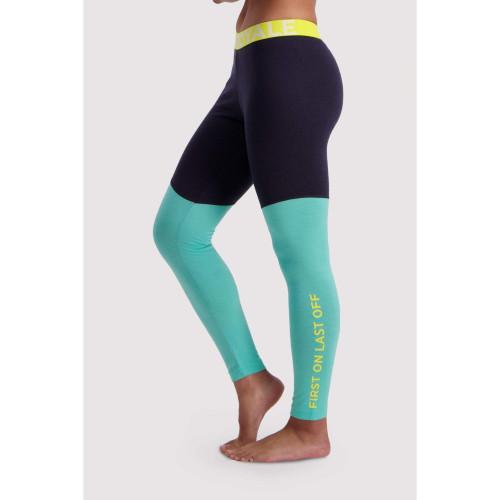 Pantaloni First Layer Femei Mons Royale Christy Legging Mint Edge