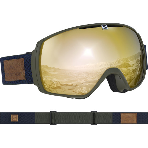 Ochelari Ski Salomon Xt One Olive night/Sol Bronze