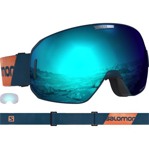 Ochelari Ski Salomon S/Max Moroccan blue/Solar Blue Unisex