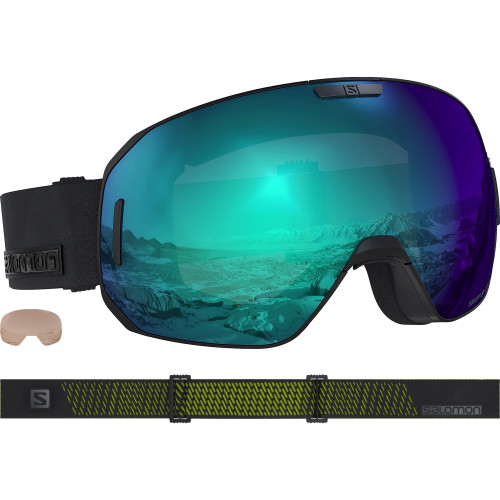 Ochelari Ski Salomon S/Max Photo Blk neon/AllW Blue Unisex