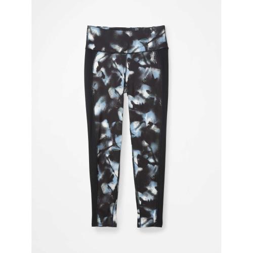Pantaloni First Layer Femei Marmot Baselayer 7/8 Tight Solstice/Black