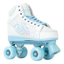 Patine Cu Rotile Copii Rio Roller Lumina White/Blue (Alb)