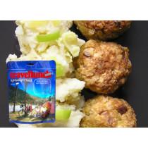 Travellunch Aliment instant Meatballs&Mash Potato 125g 50140 E