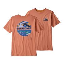 Tricou Drumetie Copii Patagonia Boys' Graphic Organic T-Shirt Mellow Melon