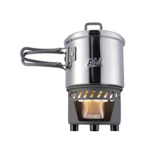 Arzator Spirt Solid Cu Vas Inox Esbit 585 ML