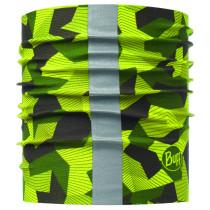 Bandana Caini Buff Dog Reflective R-Block Camo Green M/L
