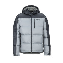 Geaca Puf Barbati Marmot Guides Down Hoody Grey Storm/Dark Steel