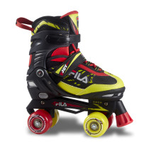 Patine cu rotile Fila Joy Black/Red/Lime (Multicolor)
