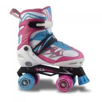 Patine Cu Rotile Copii Fila Joy White/Pink/Light Blue (Multicolor)