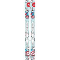Skiuri cu Legaturi Copii Rossignol SUPER ROOSTIE KX/KID 4 GW W Multicolor