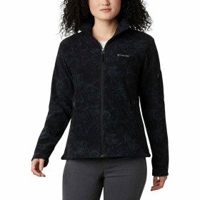 Bluza Drumetie Femei Columbia Fast Trek Printed Jacket Negru