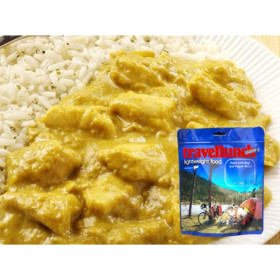 Travellunch Aliment instant Chicken Korma Curry with Rice 250 g 50234