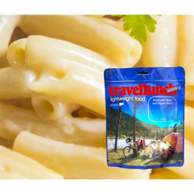 Travellunch Aliment instant Pasta in Cheese Sauce 125g 50127 E vegetarian