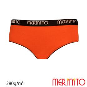 Lenjerie Femei Merinito Hipster Thermoplus+ 280G Lana Merinos Portocaliu
