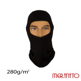 Cagula Unisex Merinito 280G Lana Merinos Negru