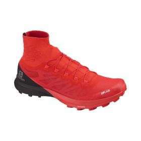 Pantofi Alergare Unisex Salomon  S/Lab Sense 8 Sg Racing Red/Bk/Wh