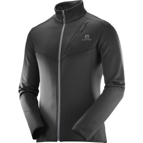 Fleece Salomon Discovery Fz Barbati