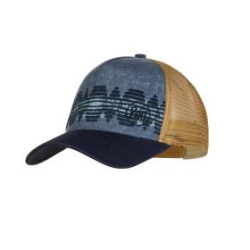 SAPCA SPORT BUFF TRUCKER CAP TZOM STONE BLUE UNISEX
