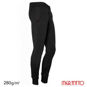 Pantaloni Barbati Merinito Jogger 100% Lana Merinos Negru