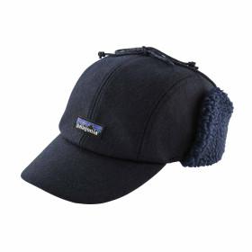 Sapca Patagonia Recycled Wool Ear Flap Cap Classic Navy